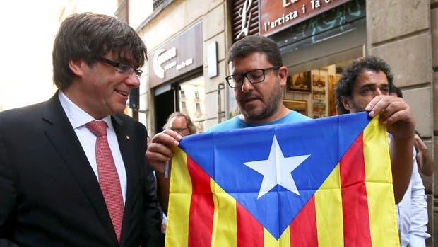 La marcha por la independencia sumó un millón de catalanes