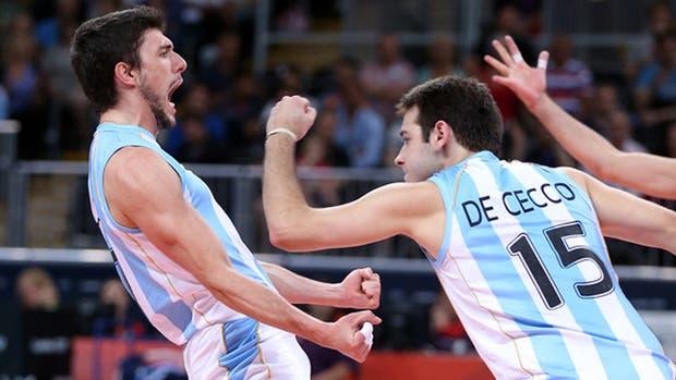 El voleibol masculino definió sus 12 jugadores para los Juegos Olímpicos