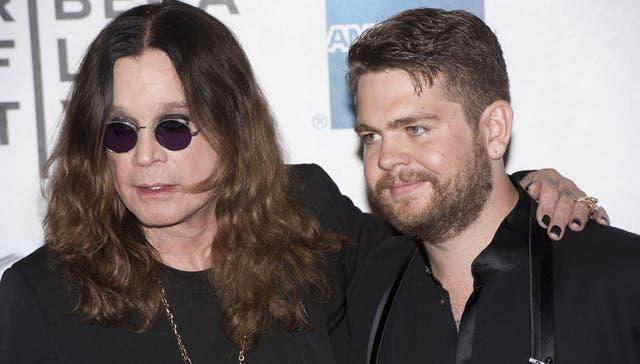 Ozzy y Jack Osbourne