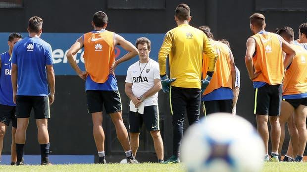 Guillermo ya empezó a mentalizar a los jugadores sobre lo decisiva que puede ser la próxima fecha