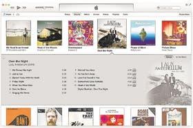 La interfaz de iTunes sigue avanzando continuamente