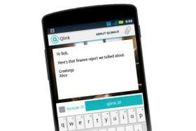 Qlink.it funciona en la Web y en una aplicación para Android