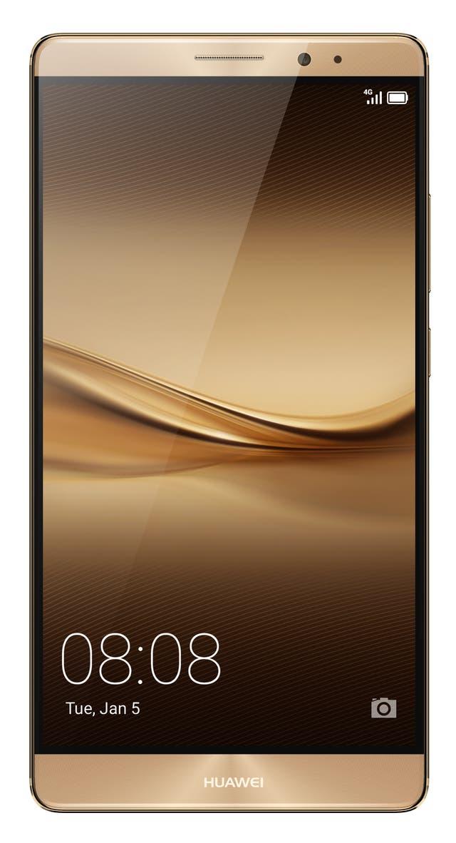 La phablet Mate 8 de Huawei, metálica y con una imponente pantalla de 6