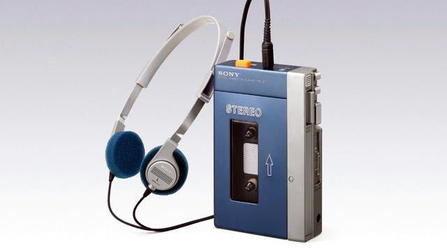 El primer Walkman de Sony