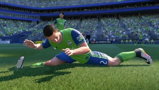 Estilo Van Damme, uno de los movimientos absurdos que suelen encontrarse en las últimas entregas del FIFA de Electronic Arts