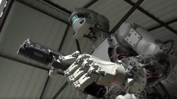 FEDOR, el temible robot militar ruso