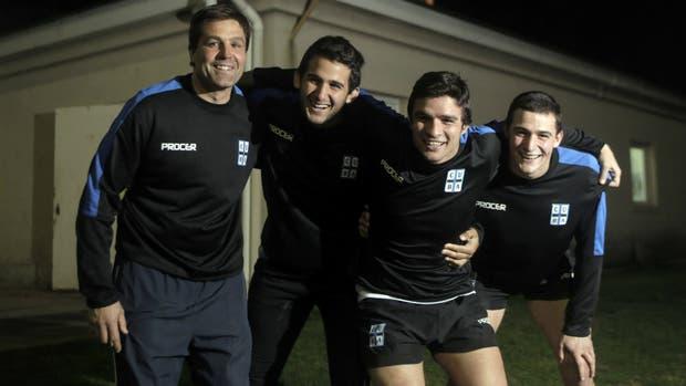 Capdepont, Ortiz de Rozas, Hardoy y Morani; CUBA se divierte tanto en la cancha como fuera de ella