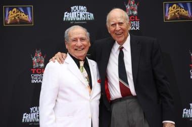 Mel Brooks y Carl Reiner, una amistad de setenta años