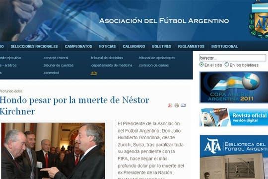 Foto: afa.org.ar