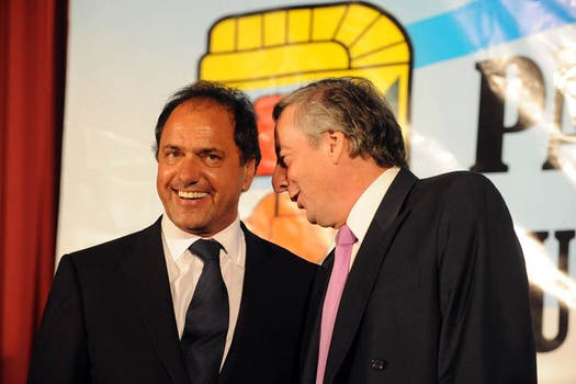 La era de Scioli; tras su vicepresidencia es gobernador de la provincia desde el 10 de diciembre de 2007. Foto: Archivo