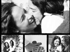 Daniela Mercury junto a su pareja