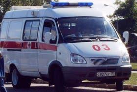 Una ambulancia rusa, protagonista de un robo insólito