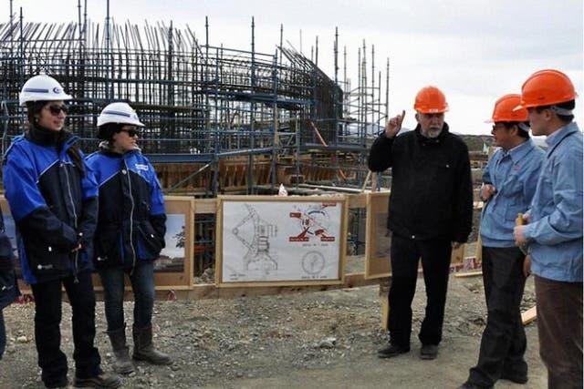 El secretario de Gestión Pública de Neuquén, Rodolfo Laffitte, explicó los alcances de la obra en marcha