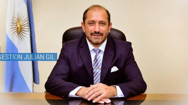 Juan Gil, intendente de Caucete