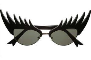 Objetos locos: lentes con diseño