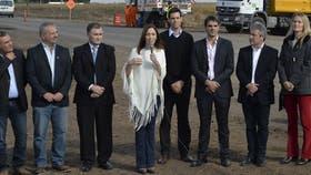 María Eugenia Vidal anunció un plan vial de 80 obras en Ramallo