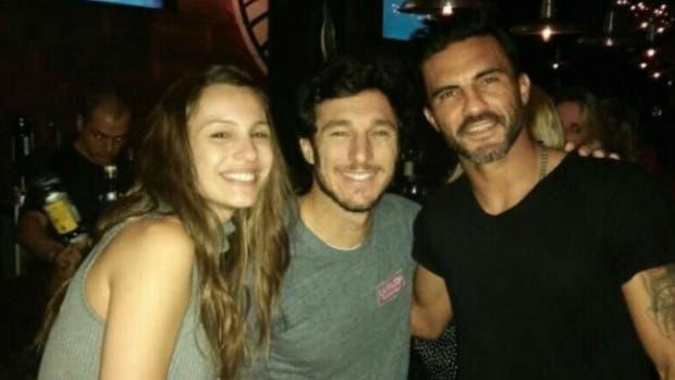 Pampita, Cubero y Pico Mónaco juntos en la noche marplatense