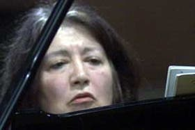 Martha Argerich, espectacular