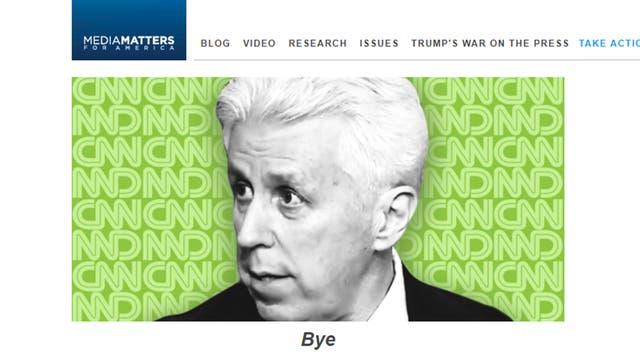 La organización Media Matters, liderada por Angelo Carusone, se hizo eco del despido de Jeffrey Lord