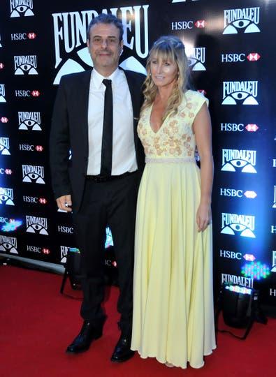 Ari Paluch junto a su mujer. Foto: LA NACION / Gerardo Viercovich