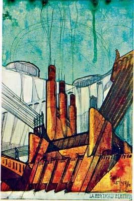 ANTONIO SANT´ELIA. El arquitecto futurista creó ciudades utópicas que hoy son realidad