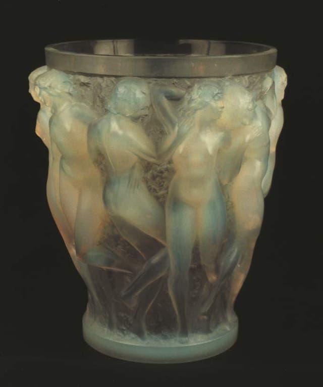 Vaso Bacantes, René Lalique, siglo XX