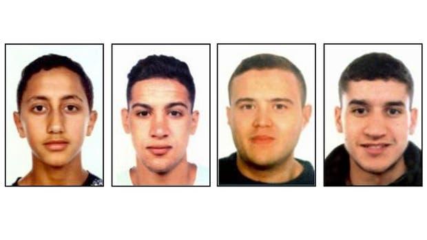 Cuatros de los sospechados de participar en el ataque