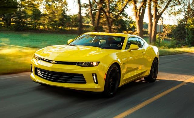 Muscle car. El Camaro Coupé SS será una de las atracciones del stand de Chevrolet