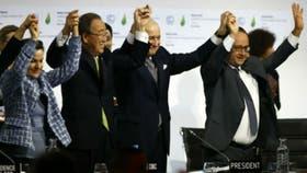 Ban Ki-moon celebra el Acuerdo de París, el año pasado