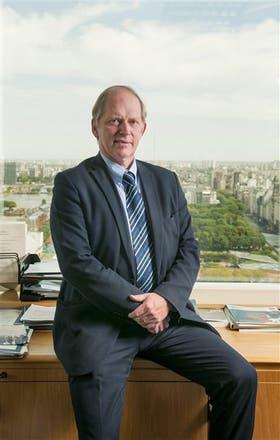 Juergen Voegele, el directivo del Banco Mundial para la agricultura