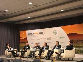 Un panel de expertos en el último World Agritech Innovation Summit, en San Francisco