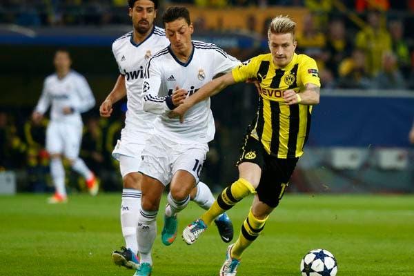 Borussia goleó a Real Madrid por 4 a 1.  Foto:Reuters