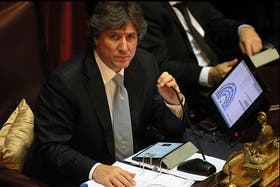 El vicepresidente, Amado Boudou, recibió críticas de la Federación Agraria por minimizar el impacto del dólar blue