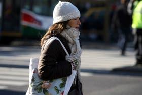 Se espera una mínima de 5 grados en la Capital