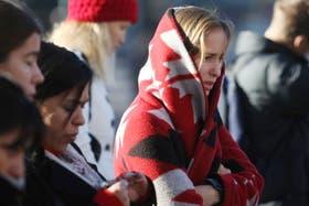 Otro lunes de frío en Capital y el Gran Buenos Aires