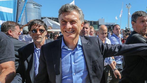 Mauricio Macri en Expoagro