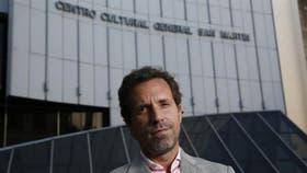 Diego Pimentel, el director del Cultural San Martín