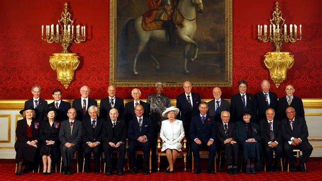 Foyo oficial de una reunión Real en octubre de 2002