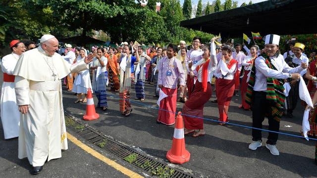 La gira del Papa por Myanmar durará cuatro días