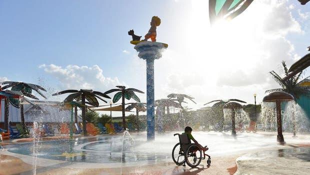 El primer parque acuático apto para discapacitados