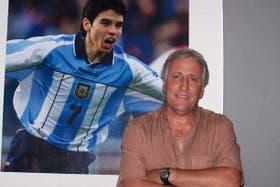 Gabriel Rodríguez, el hombre que descubrió futbolísticamente a Javier
