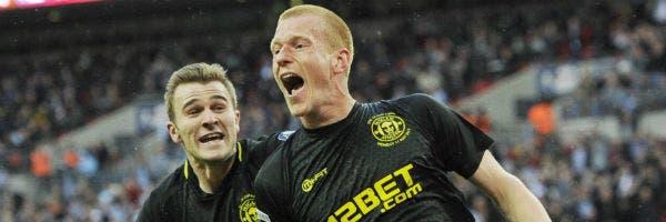 El grito de Ben Watson, tras el gol que hizo historia