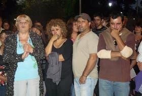 Anoche, familiares de la joven de 14 años participaron de la marcha para exigir Justicia