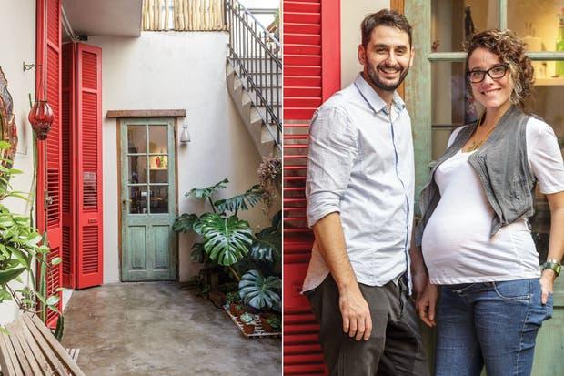 """""""Si bien no tiene muchos metros, la disposición original de la vivienda permitió generar ambientes funcionales con pequeños cambios"""".  /Daniel Karp"""