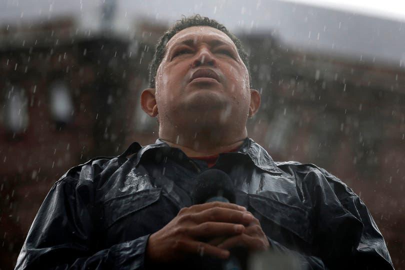 El 4 de octubre de 2012 durante el cierre de campaña en Caracas. Foto: Reuters