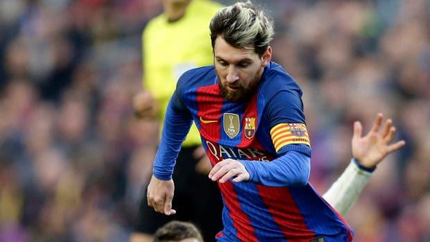 Leo Messi, titular contra Villarreal