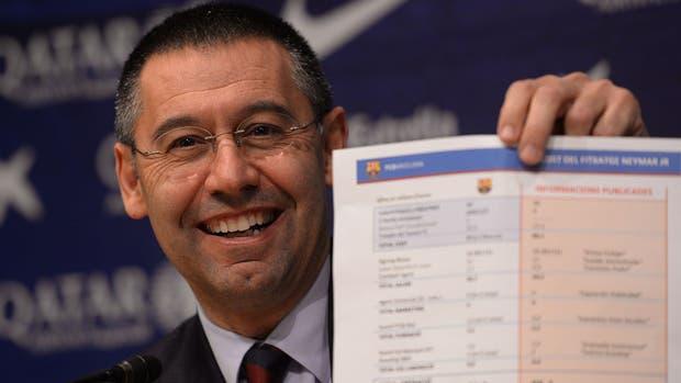 El presidente del Barcelona, en problemas