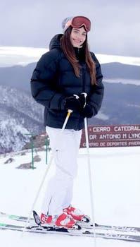 Eva, muy sonriente en la producción. Foto: Archivo / Gentileza Prensa y Comunicación