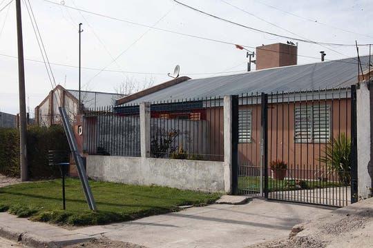 La casa donde vivían Junior y su familia. Foto: LA NACION / Matías Aimar