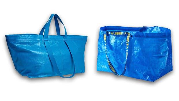 Las bolsas de Balenciaga y de IKEA, a 2144 dólares de distancia